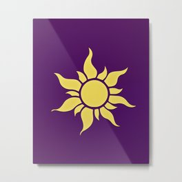 the kingdom of the sun... tangeled Metal Print