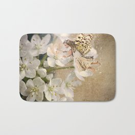 Cream Blossom Fairy Bath Mat