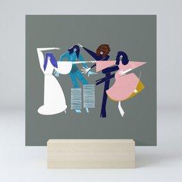Dancing Kate Bush Mini Art Print