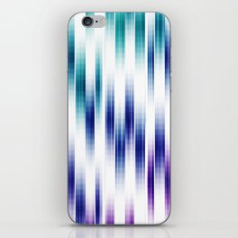 Abstract Vertical pattern iPhone Skin