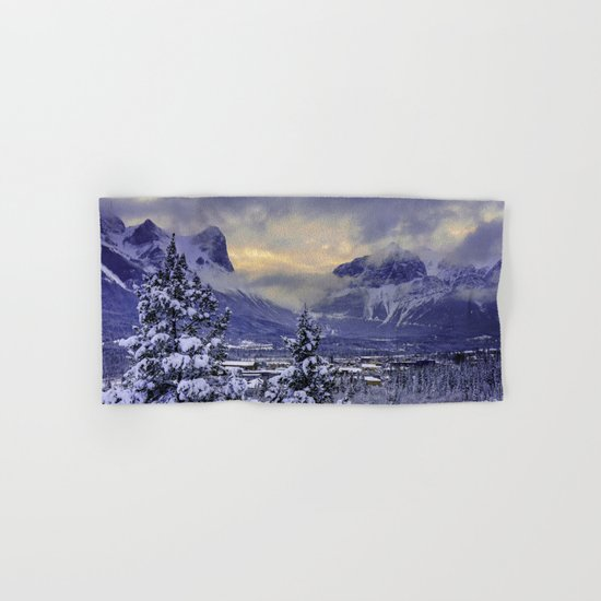 Winter Wonderland #snow Hand & Bath Towel