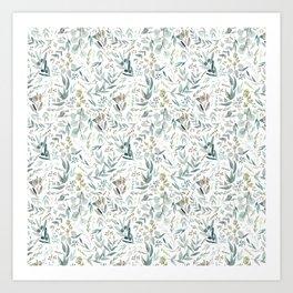 Little Eucalyptus Art Print
