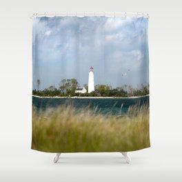 Chantry Island Shower Curtain