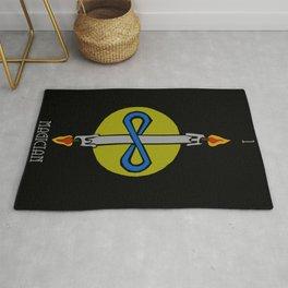 Tarot - 1 - Magician Rug