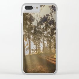 The firts light Clear iPhone Case
