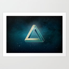 Penrose Universe Art Print