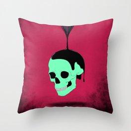 Neural Sap Throw Pillow