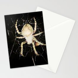 Mid-air Spider Stationery Cards