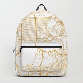 SAN FRANCISCO CALIFORNIA CITY STREET MAP ART Backpack