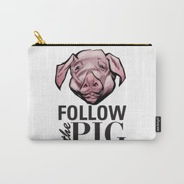 DSA - Follow the Pig Carry-All Pouch