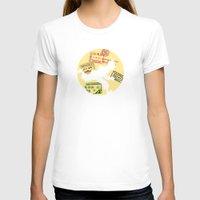 tintin T-shirts featuring Run Tintin, Run by ikado