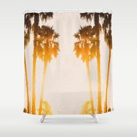 west coast Shower Curtains featuring WEST COAST by Jack Stobart