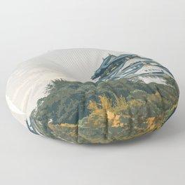 Visit Osaka Floor Pillow