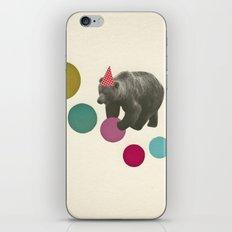 Birthday Bear iPhone Skin