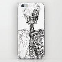anatomy iPhone & iPod Skins featuring Anatomy  by BunnyBrush