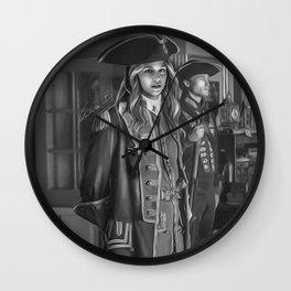Commodore Kara Zor-El Wall Clock