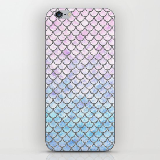 Pastel Mermaid Scales Pattern by artlovepassion