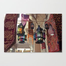 Arabian Lanterns  Canvas Print
