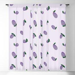 Plums Blackout Curtain