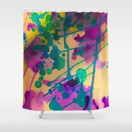 Ink Goddess Shower Curtain