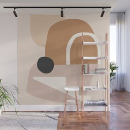 abstract minimal 24 Wall Mural