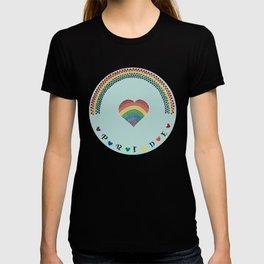 Rainbow Heart LGBTQ Pride T-shirt