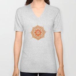 Mandala Creation #4 Unisex V-Neck