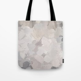 Neutral Beige Gray Sand Desert Ground Aerial Earth Abstract Nature Painting Art Print Wall Decor  Tote Bag