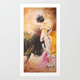 2010 Toro Acrylics 03 Art Print