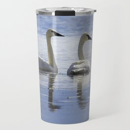 Trumpeter Swans Travel Mug