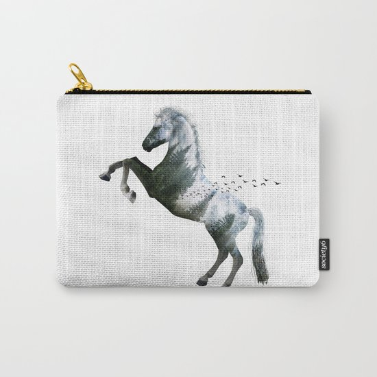 Horse landscape Carry-All Pouch