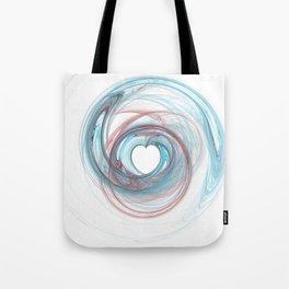 Valentine's Fractal IX - Light Tote Bag