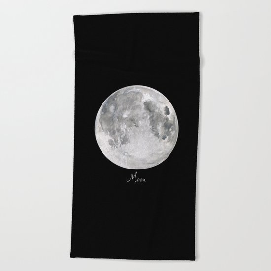Moon #2 Beach Towel