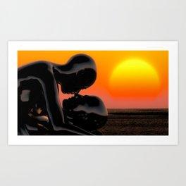 Still Believe In Love Art Print