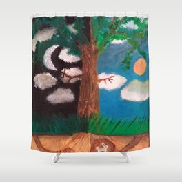 The Frontline Shower Curtain