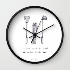the whisk wasn't the tallest Wall Clock