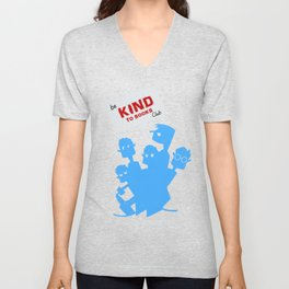Be kind to books club Unisex V-Neck