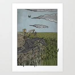 Scarcity on Earth Art Print