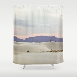 Standing Around Shower Curtain