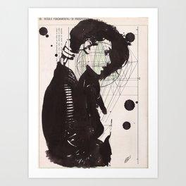 Bonbon Art Print