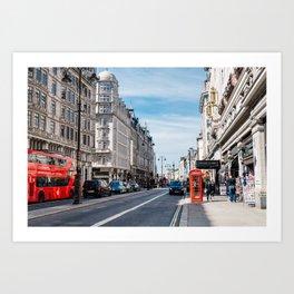 The Strand in London Art Print