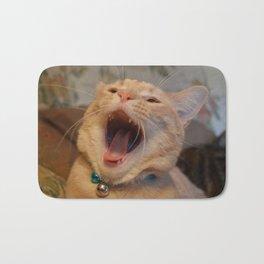A Cat Picture Bath Mat