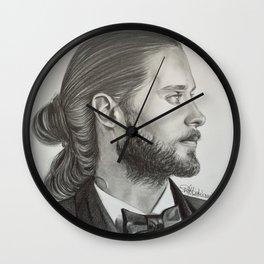 Drawing Jared Leto Wall Clock