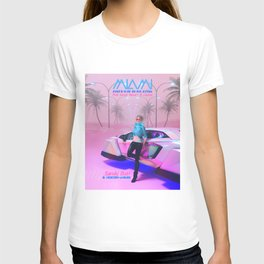 Hover Racing at Pink Sands T-shirt