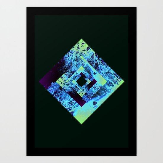 Diamond Design Art Print