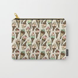 Sexy Ice Cream tattoo flash Carry-All Pouch