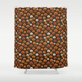 Jack-o-lanterns Shower Curtain