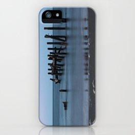 Happisburgh Beach Groynes iPhone Case