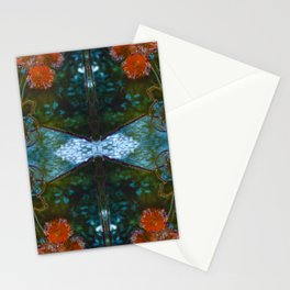 Dahlias Photographic Pattern #2 Stationery Cards