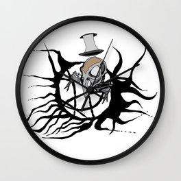 Bird of darkness Wall Clock